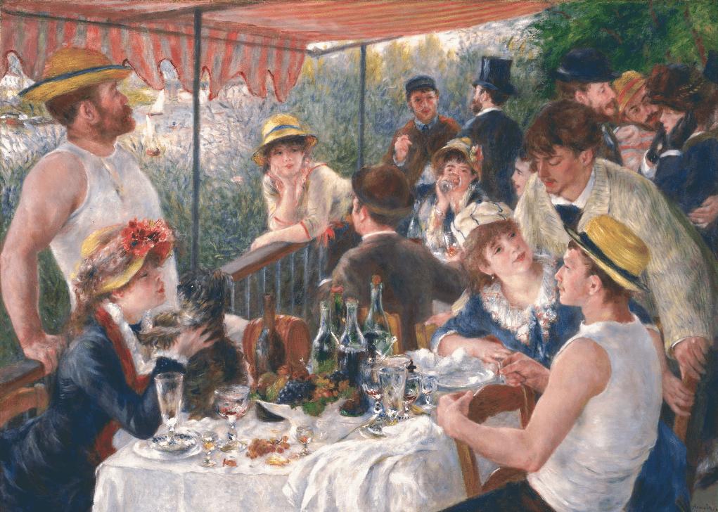 Renoir-tableau-les-canotiers